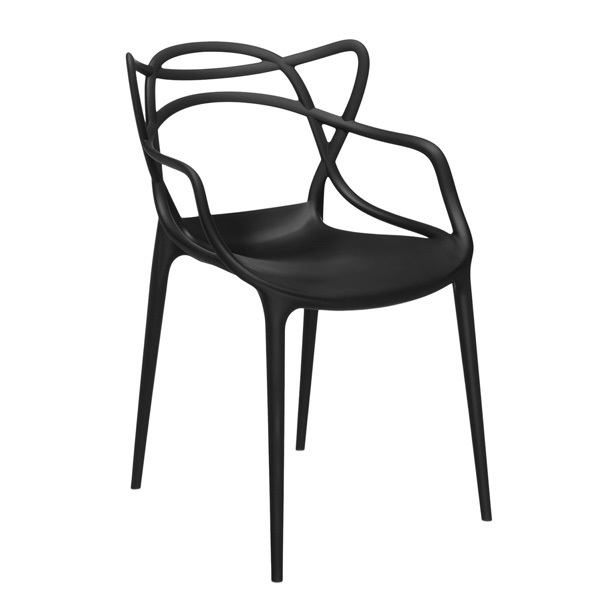 Helt nye Kartell Masters chair, black | Finnish Design Shop WI-71