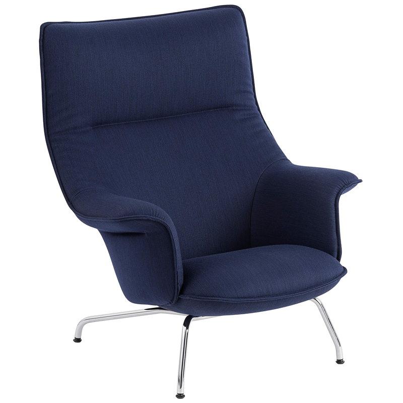 Muuto Doze lounge chair, Balder 782 - chrome