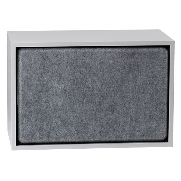 Muuto Stacked acoustic panel, large, grey melange