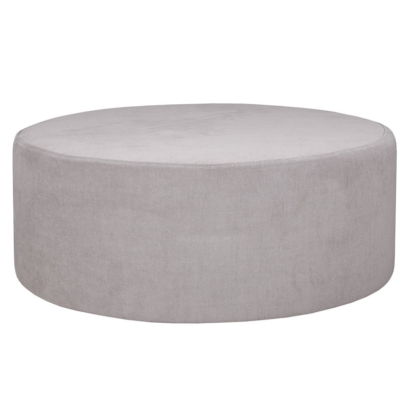 Hakola Moon pouf, large, Soft light grey