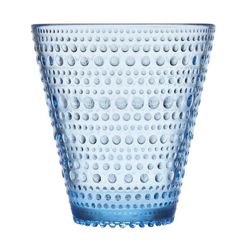 Iittala Bicchiere Kastehelmi 30 cl, 2 pz, blu acqua