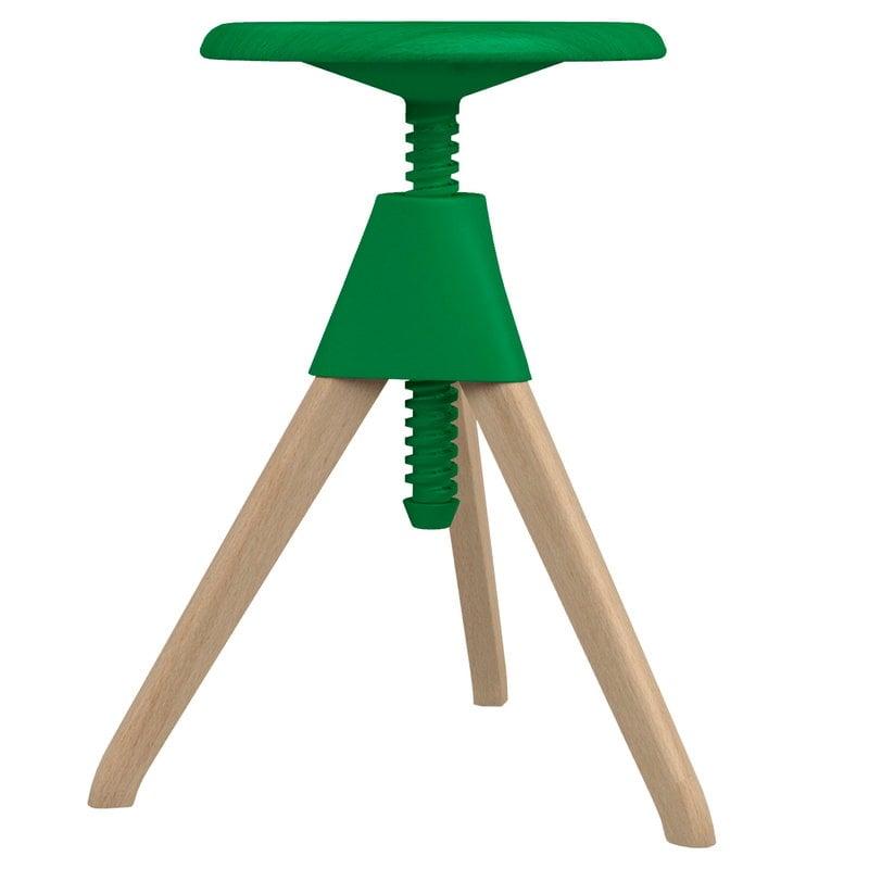 Magis Jerry stool, beech - green