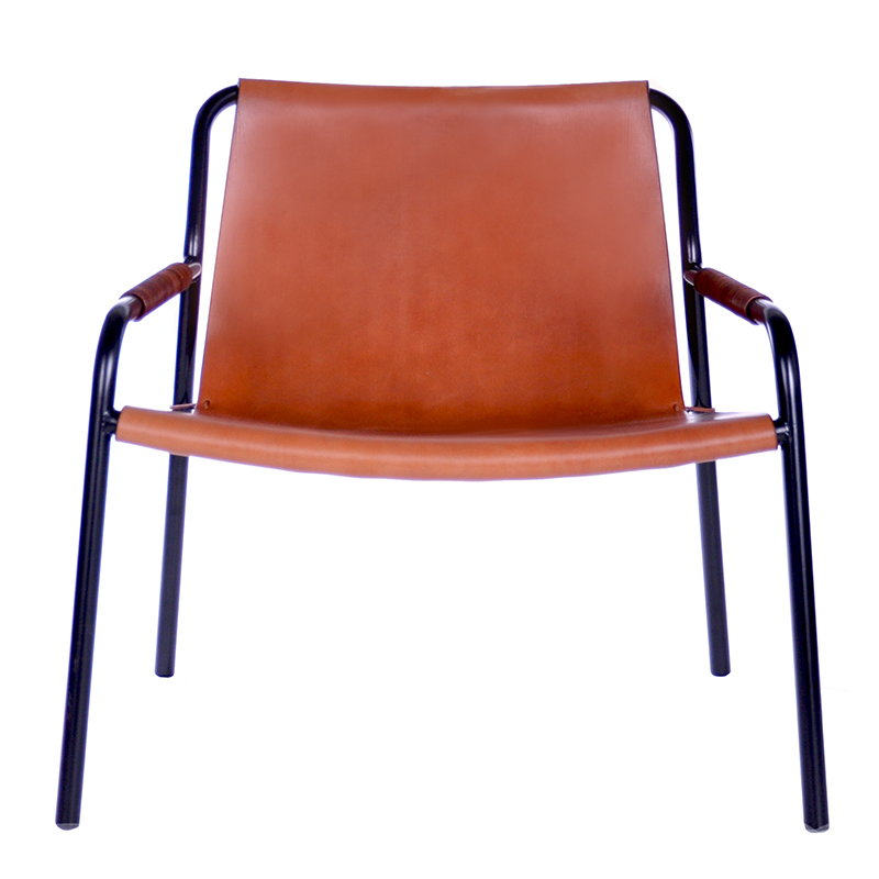OX Denmarq September chair, cognac leather
