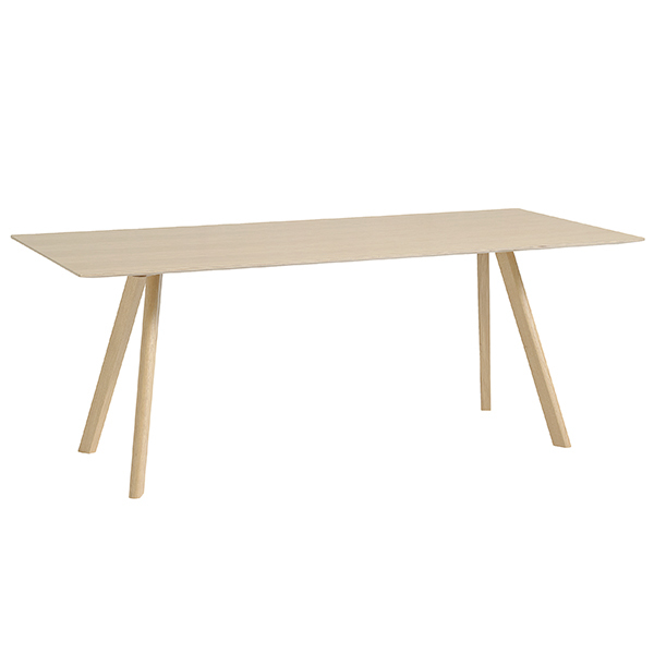 Hay CPH30 table 200x90cm, matt lacquered oak