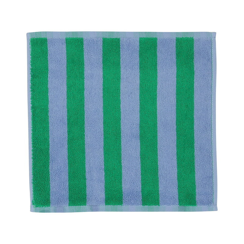 Marimekko Kaksi Raitaa mini towel, light blue - green