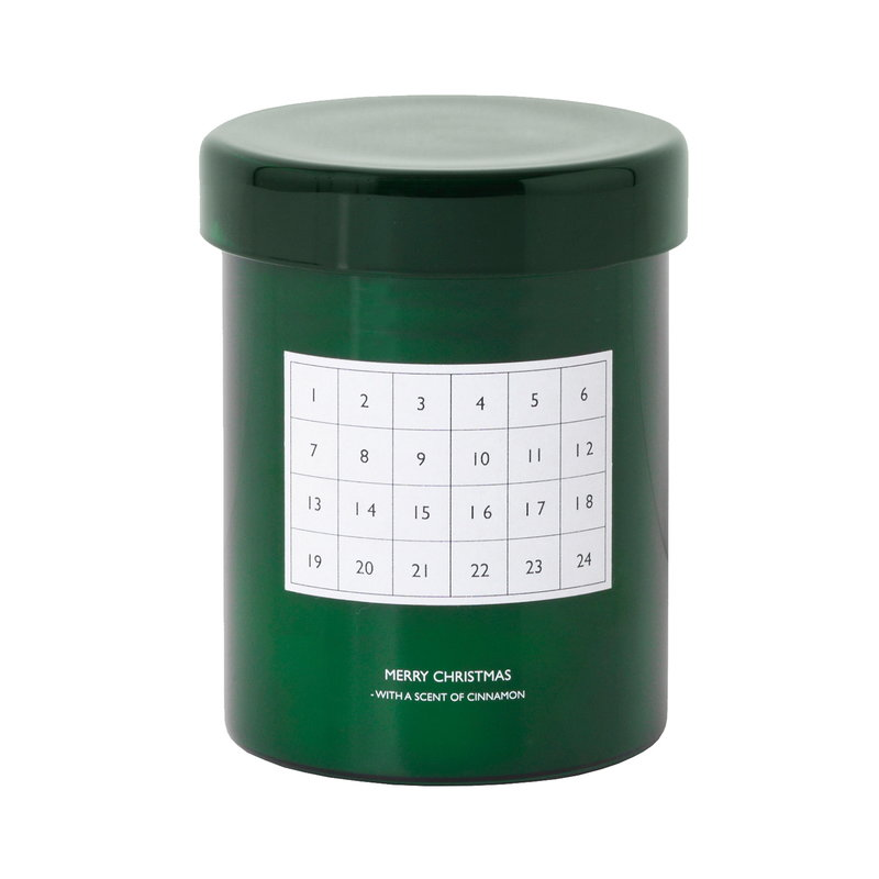 Ferm Living Scented candle Christmas calendar, green