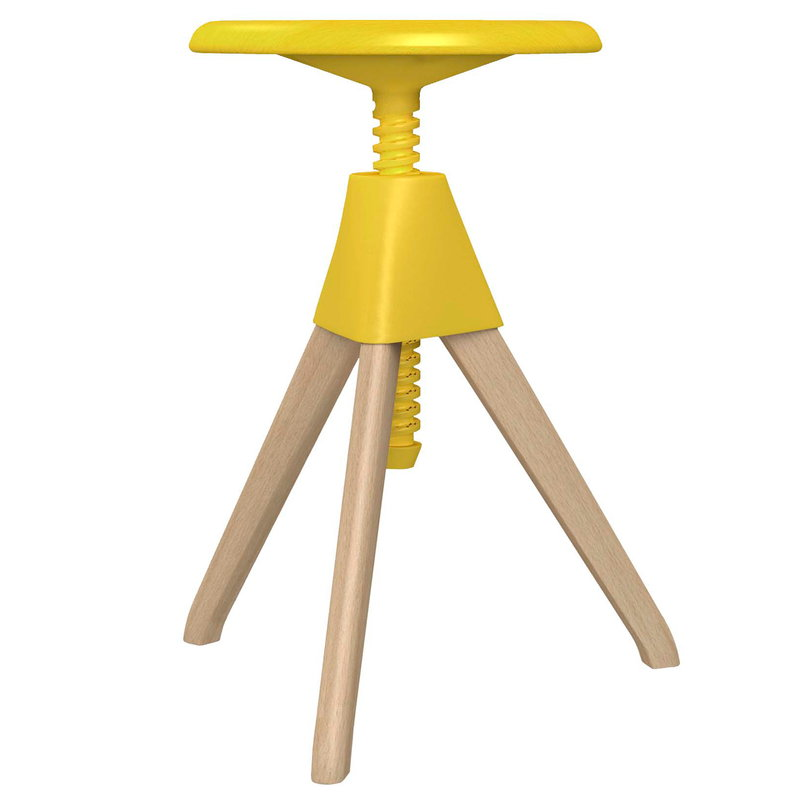 Magis Jerry stool, beech - yellow