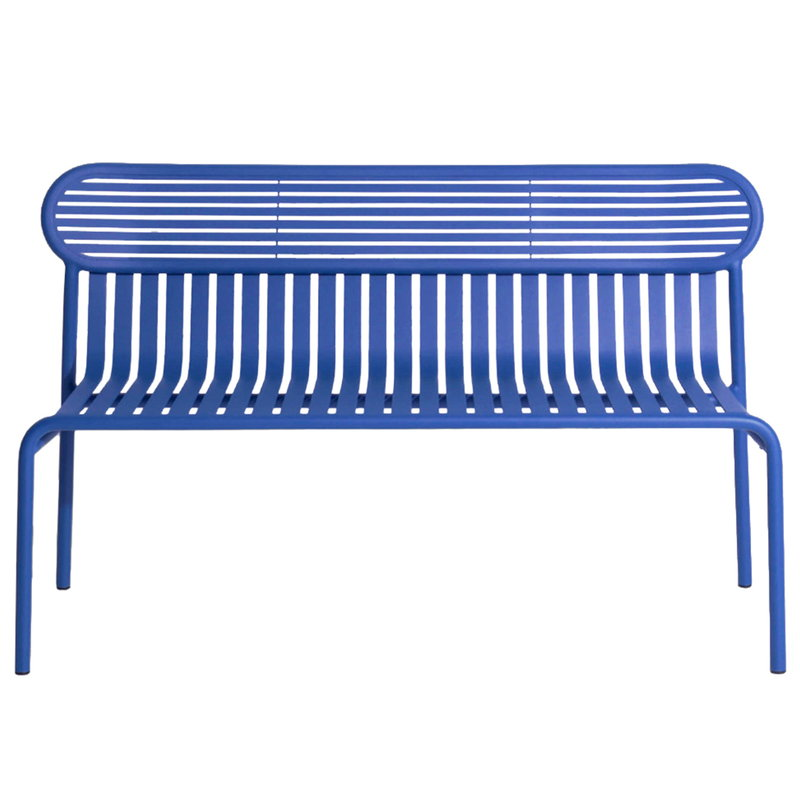 Petite Friture Week-end bench, blue
