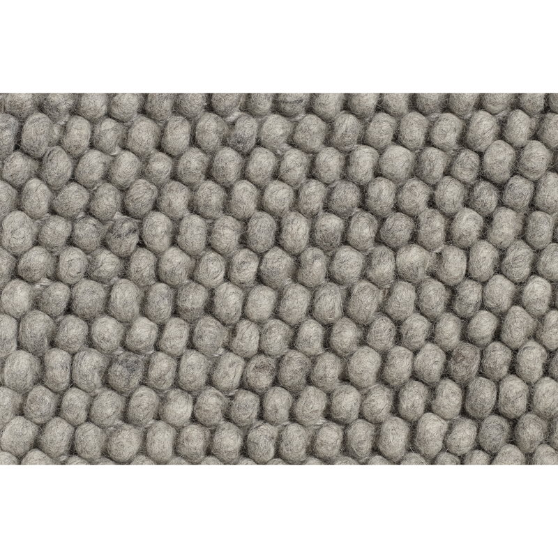 Hay Peas rug, medium grey
