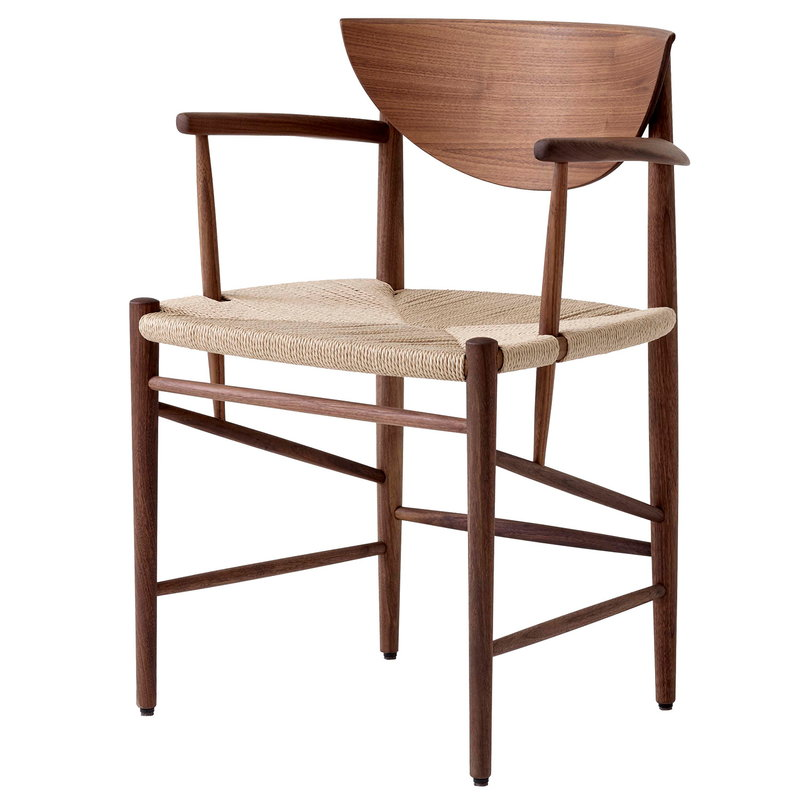 &Tradition Drawn HM4 chair, oiled walnut