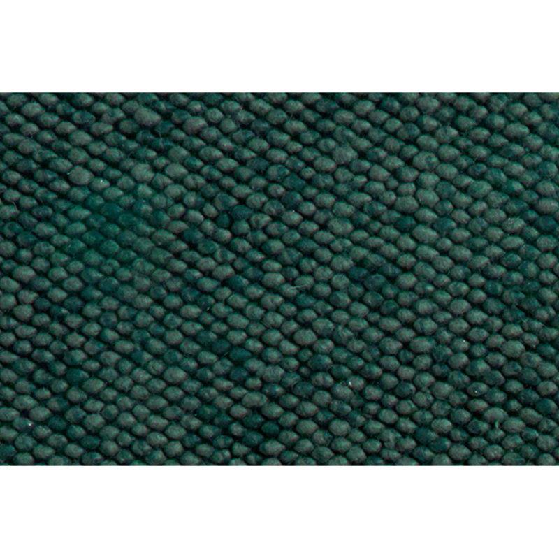 Hay Peas rug, dark green
