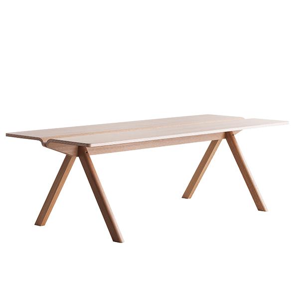 Hay Copenhague CPH110 table 200 x 90 cm, matt lacquered oak