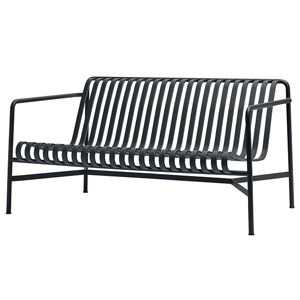 Lounge sofa  Hay Palissade lounge sofa, anthracite | Finnish Design Shop