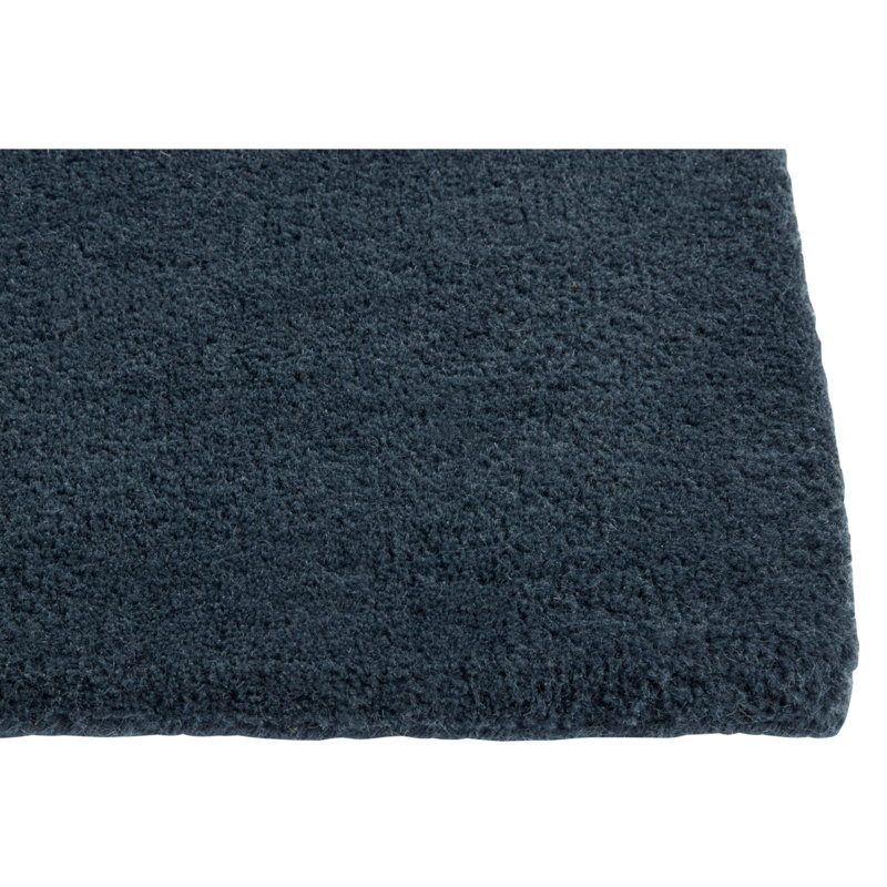 Hay Raw No 2 rug, midnight blue