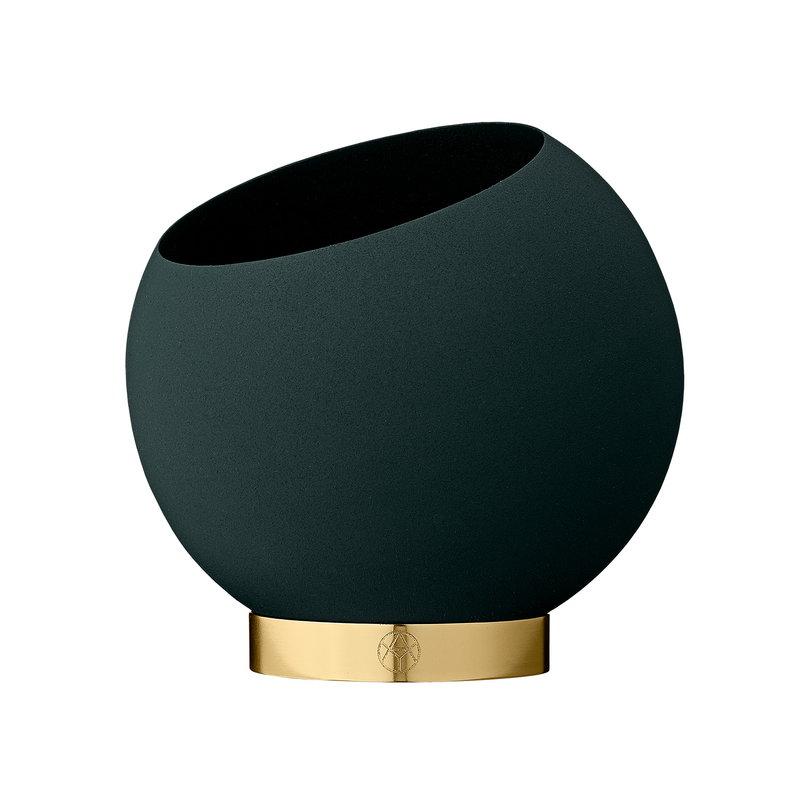 AYTM Globe flower pot, S, forest