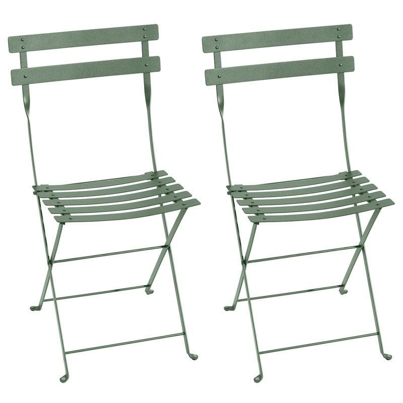 Fermob Bistro Metal tuoli, 2 kpl, cactus