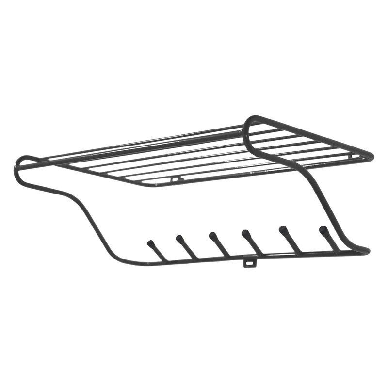 Maze Hat rack, black