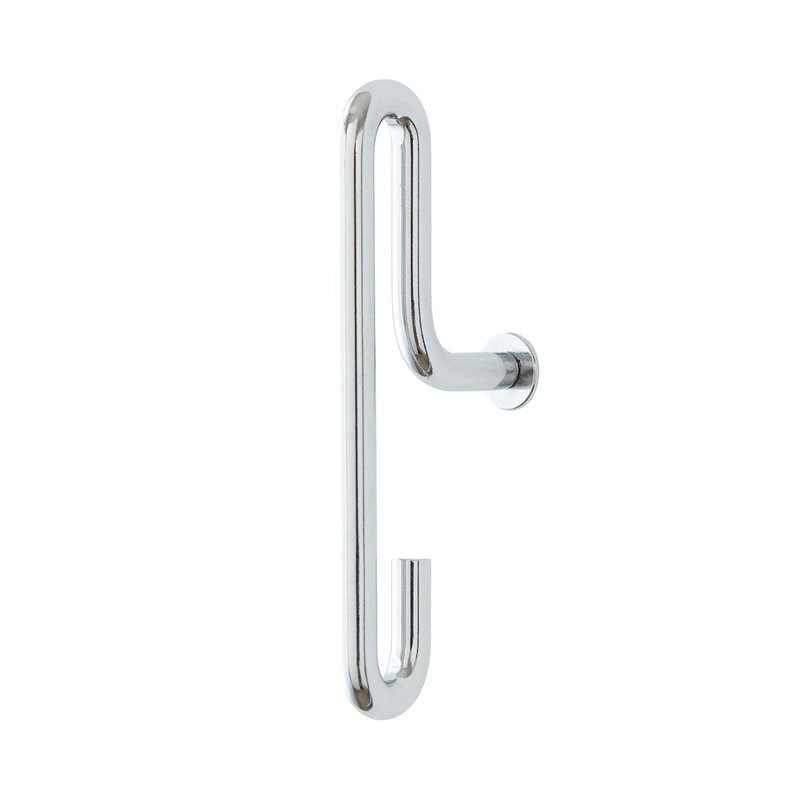 Moebe Wall hook 2 pcs, small, chrome