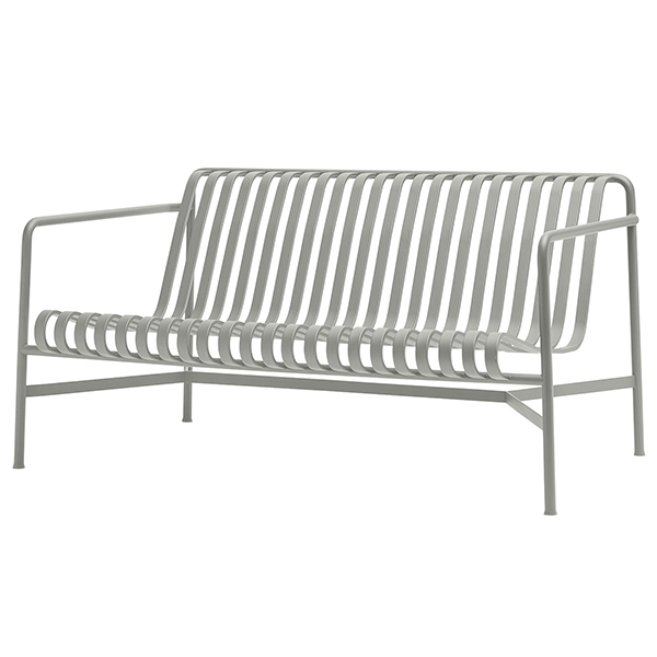 Hay Palissade lounge sofa, light grey