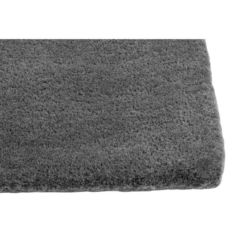 Hay Raw No 2 rug, dark grey