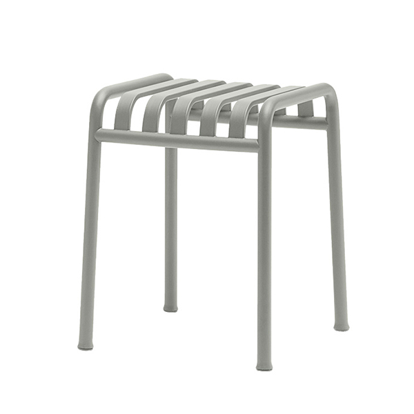 Hay Palissade stool, light grey