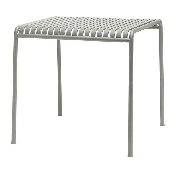 Hay Palissade table 80 x 80 cm, light grey