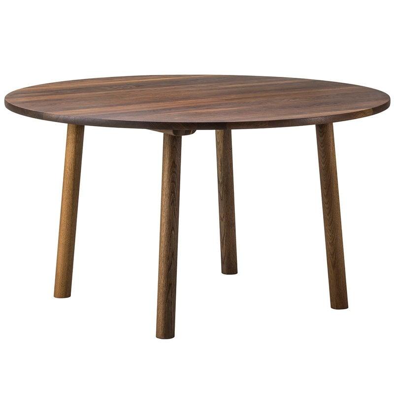 Fredericia Taro dining table, round 120 cm, smoked oak