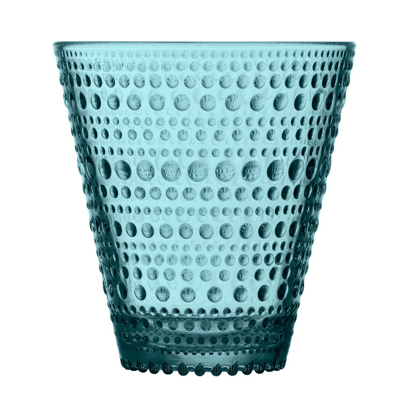Iittala Kastehelmi tumbler  30 cl, 2 pcs, sea blue