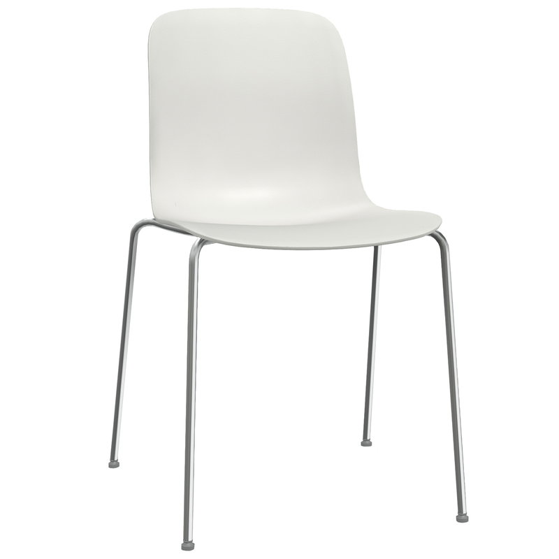 Magis Substance chair, chrome - white