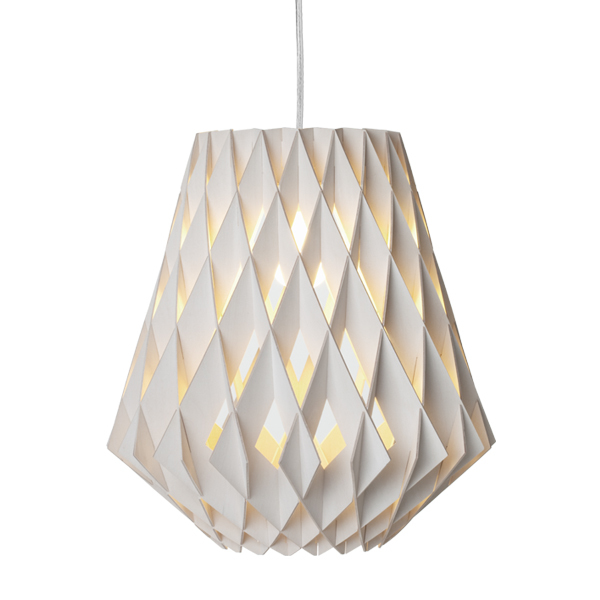 Showroom Finland Pilke 28 pendant, white