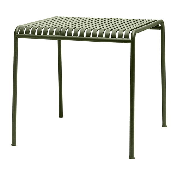 Hay Palissade table 80 x 80 cm, olive