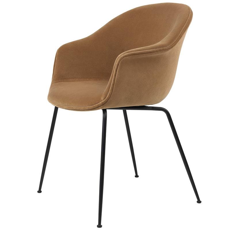 Gubi Bat chair, Ritz 4700 - black base
