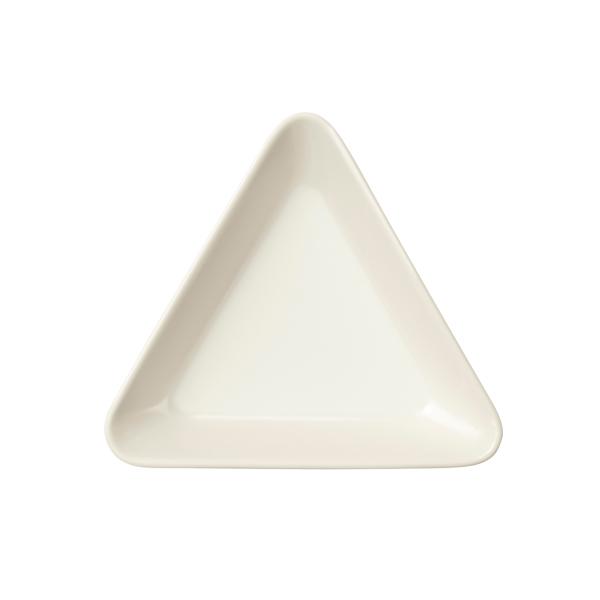 Iittala Vassoio Teema triangolo 12 cm, bianco