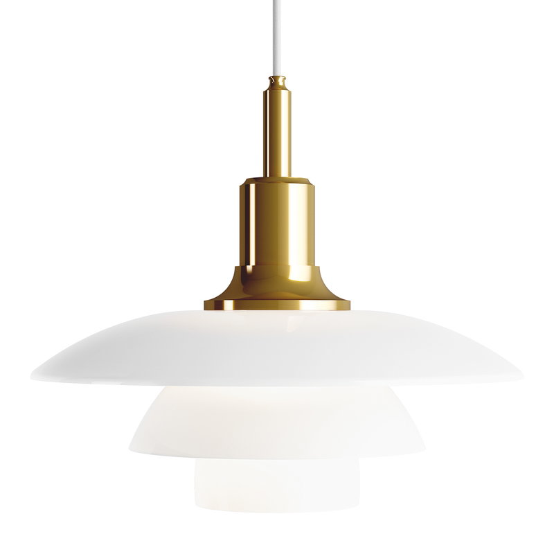 Louis Poulsen PH 3 1/2-3 pendant, metallised brass
