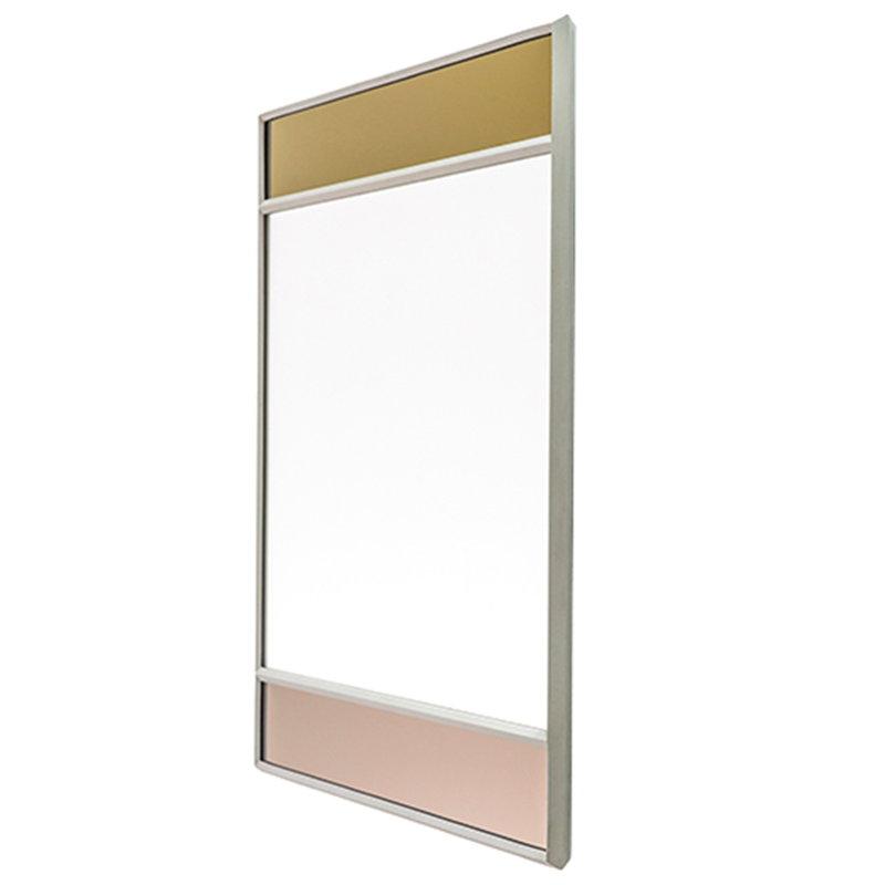 Magis Specchio Vitrail, 50 x 50 cm, grigio chiaro