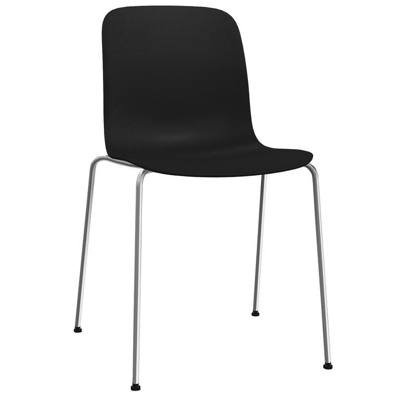 Magis Substance chair, black - chrome
