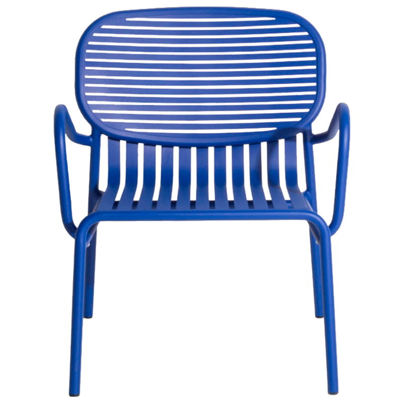 Petite Friture Week-end lounge chair, blue