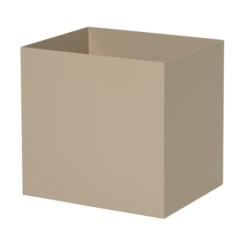 Ferm Living Plant Box ruukku, neliö, cashmere
