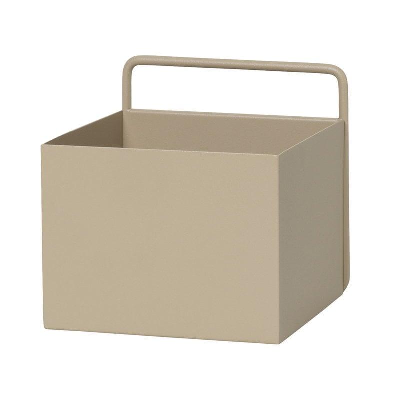 Ferm Living Wall Box, square, cashmere