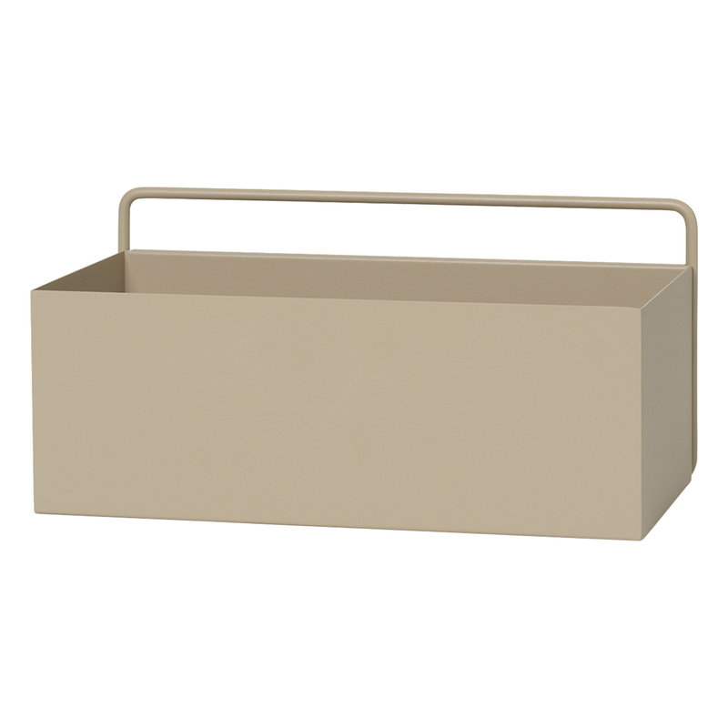 Ferm Living Wall Box, rectangle, cashmere