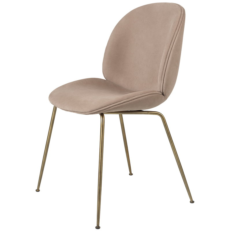 Gubi Beetle chair, antique brass - Melville 019