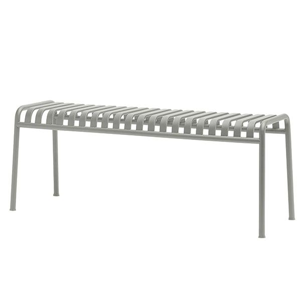 Hay Palissade bench, light grey