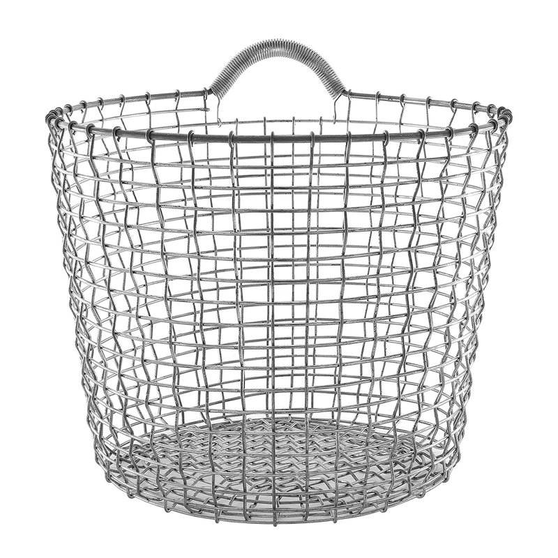 Korbo Wire Basket Bin 24, galvanized