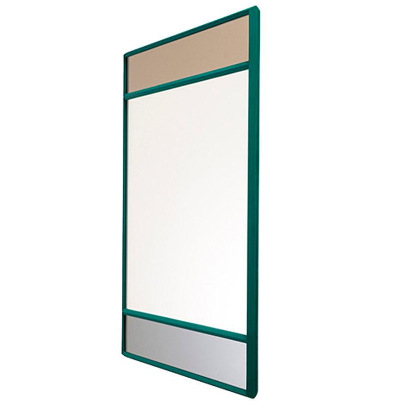 Magis Vitrail mirror, 50 x 50 cm, green