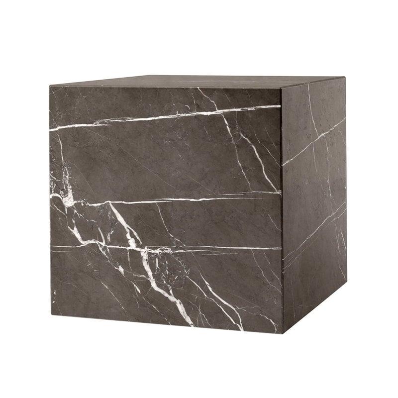 Menu Plinth pöytä, kuutio, ruskea Kendzo marmori