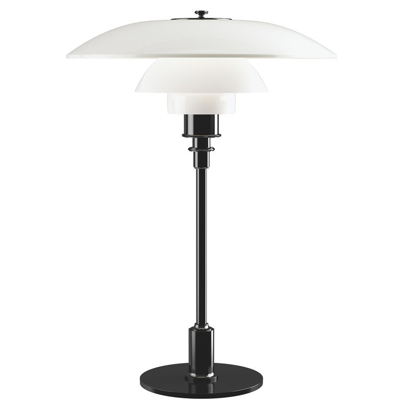 Louis Poulsen PH 3 1/2 - 2 1/2 table lamp, metallised black