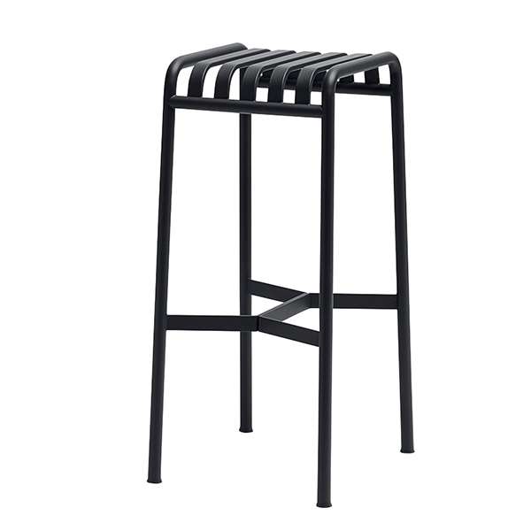 Hay Palissade bar stool, anthracite