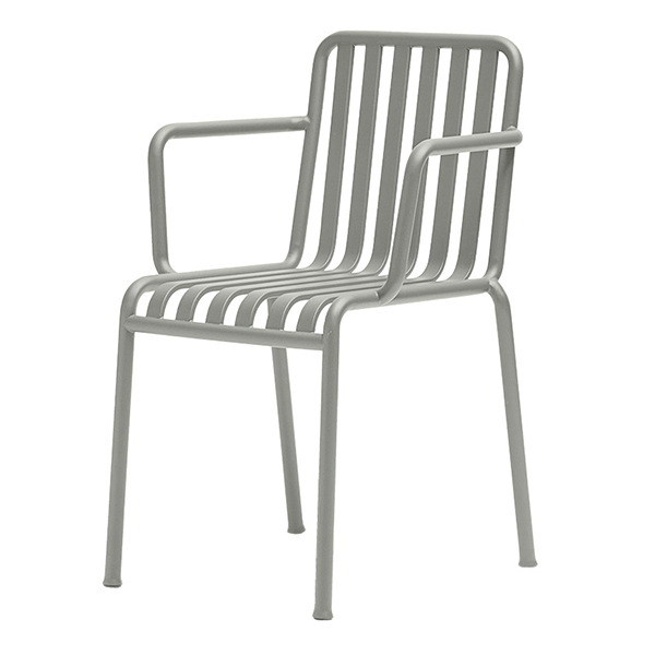 Hay Palissade armchair, light grey
