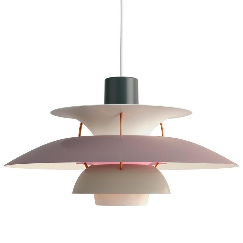 Ypperlig Louis Poulsen PH 5 pendant, grey | Finnish Design Shop YU-68