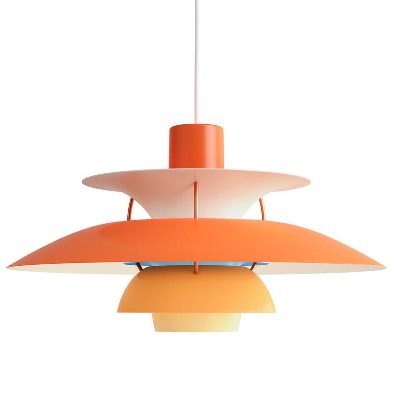 Louis Poulsen PH 5 pendant, orange
